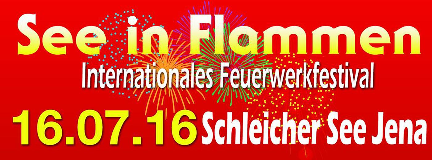 SEE IN FLAMMEN – 16.07.2016 am Schleicher See