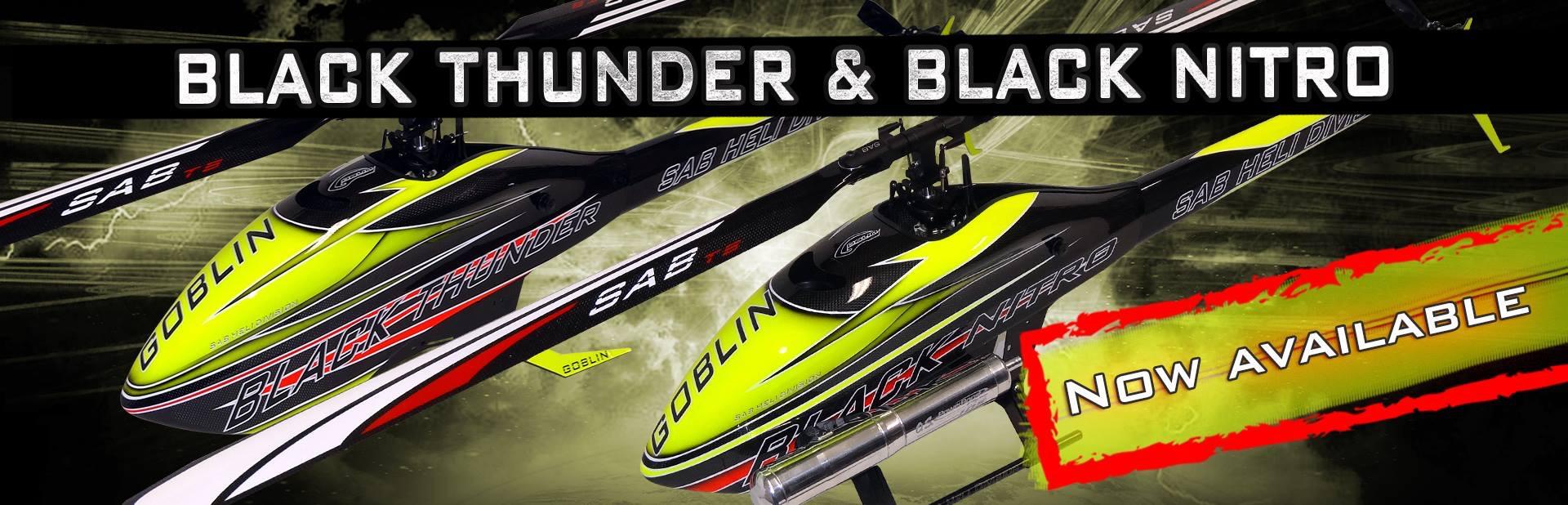 Black Thunder & Black Nitro